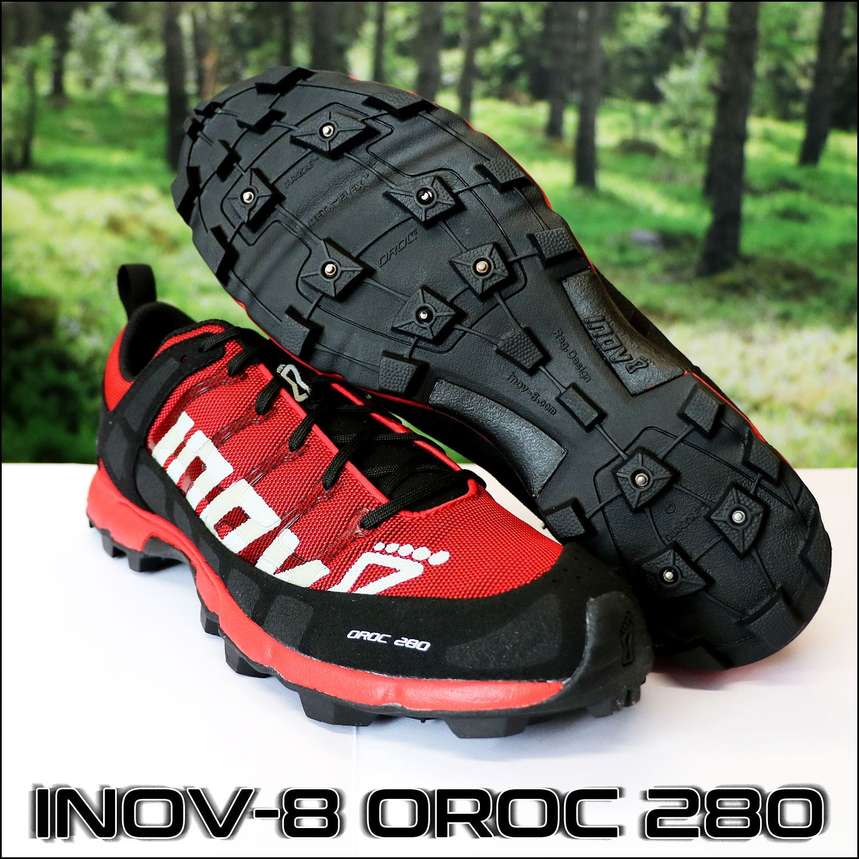 Кроссовки для бега зимой_INOV-8 OROC 280