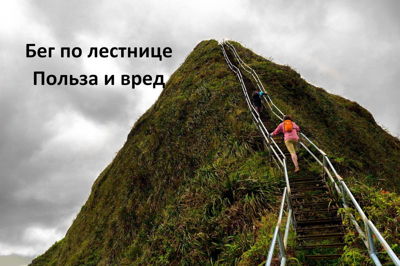 Бег по лестнице. Польза и вред