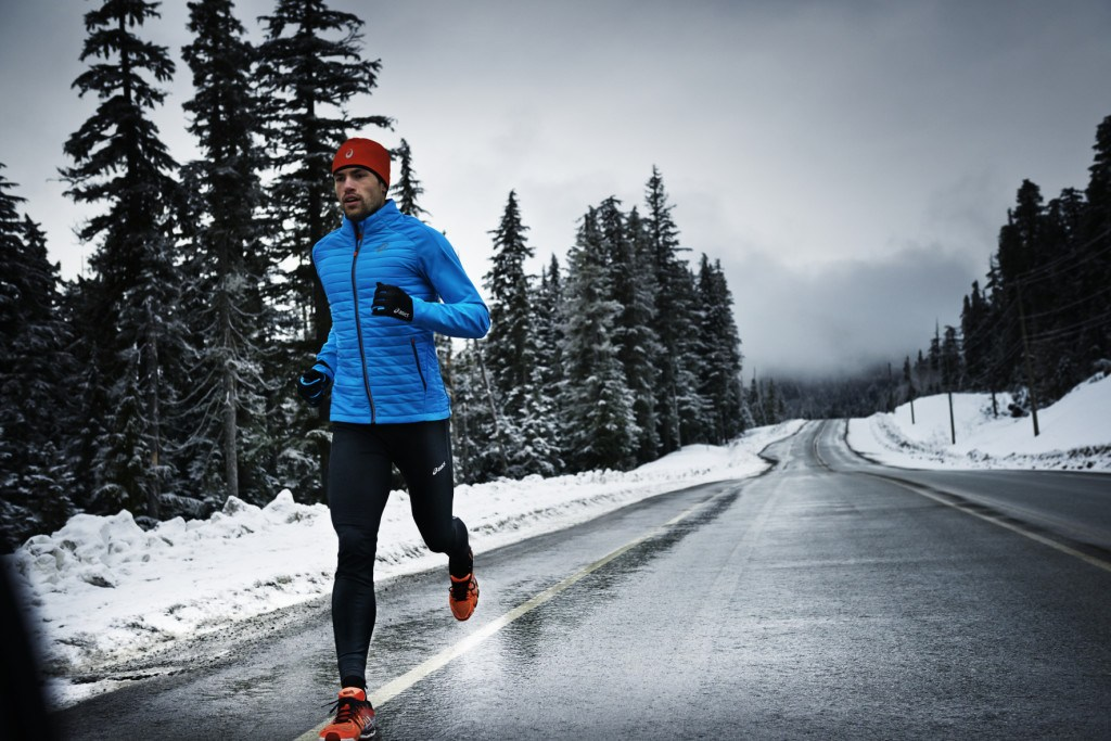 Одежда для бега зимой мужская