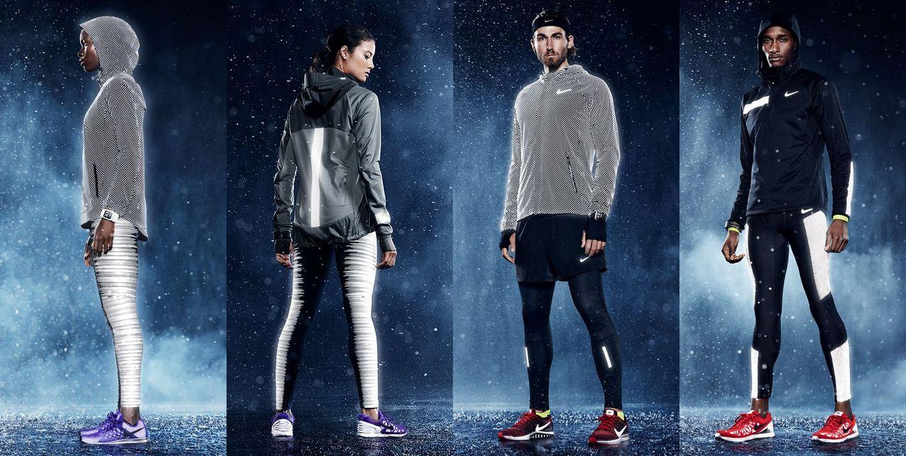 Одежда для бега зимой женская Nike