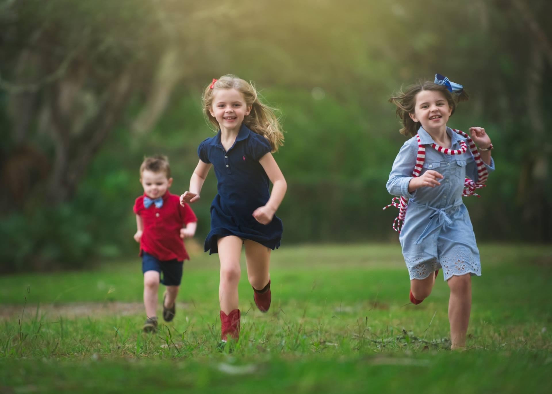 Техника естественного бега Дети
