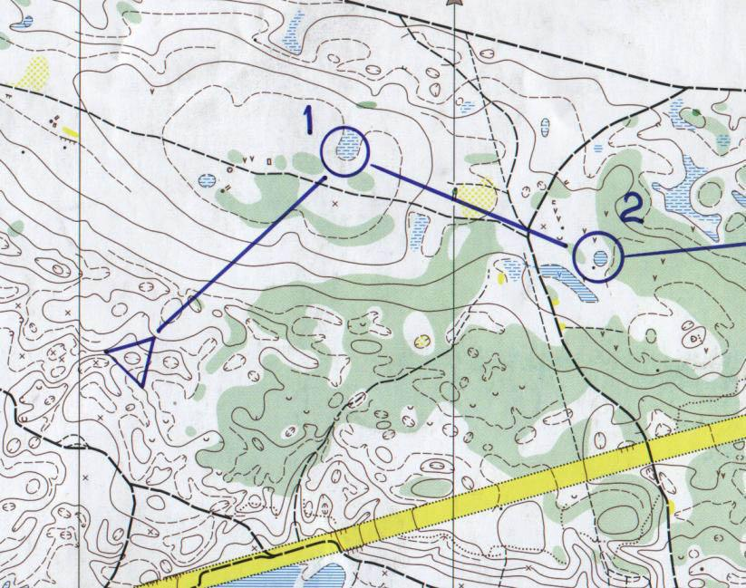 Техника спортивного ориентирования_Карта