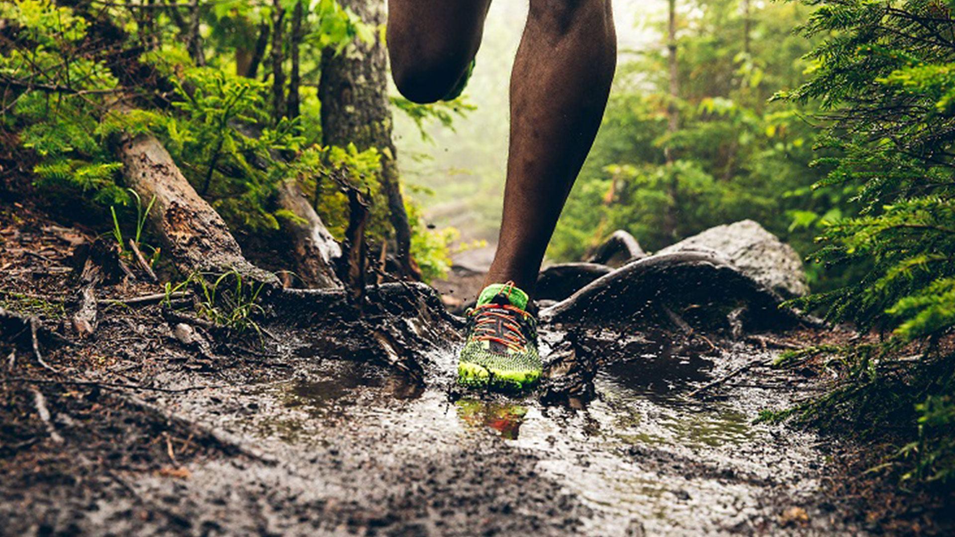 Кроссовки для бега по пересеченной местности