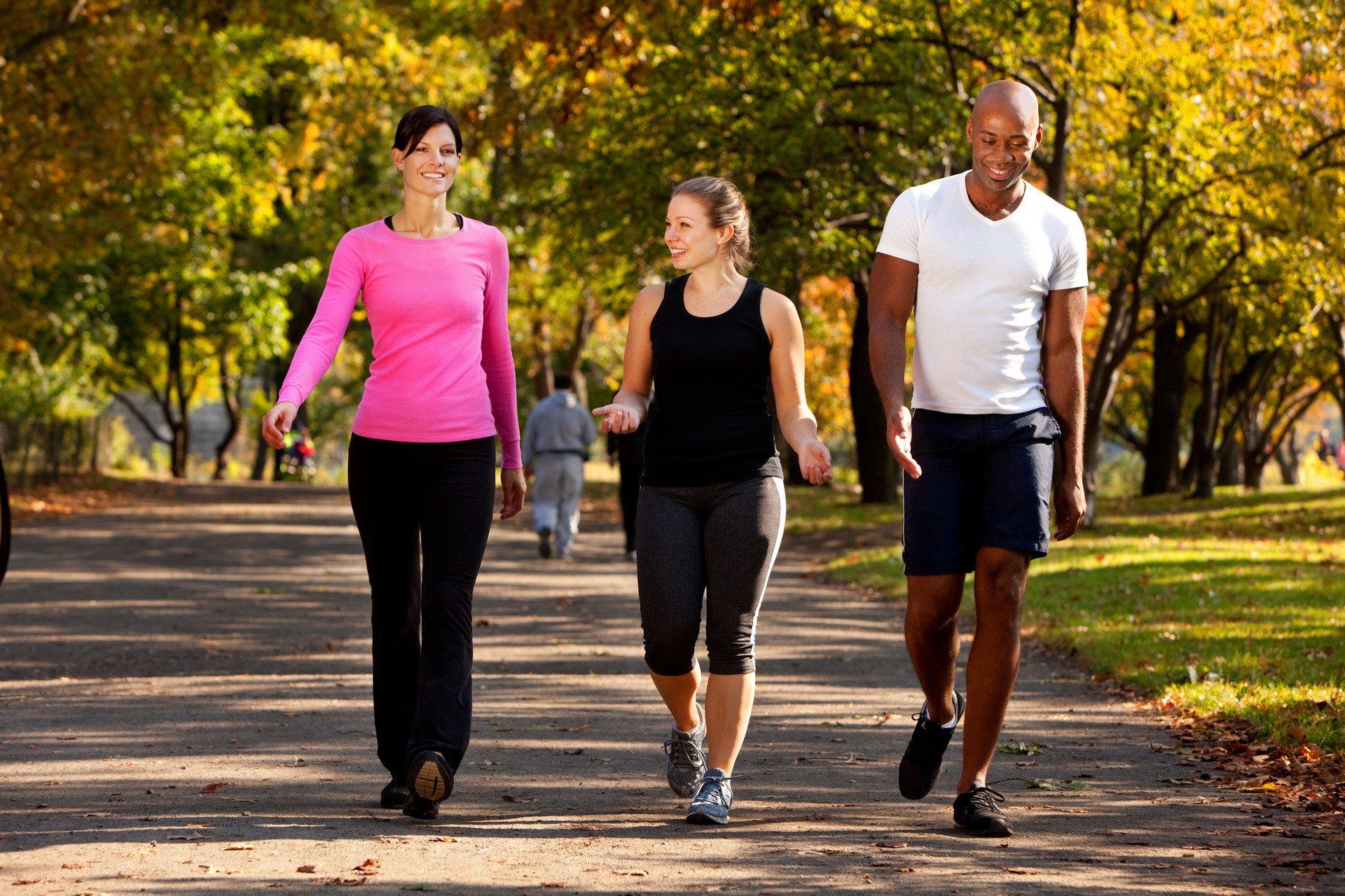 Пешие прогулки, польза, расход калорий