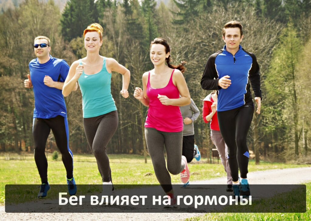 Как бег влияет на гормональный фон