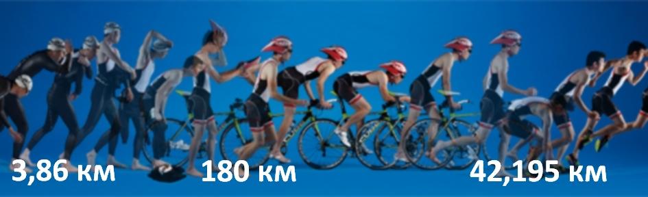 Триатлон «Железный человек или Ironman»