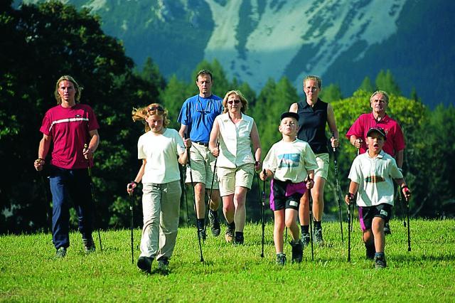 Какие палки выбрать для скандинавской ходьбы