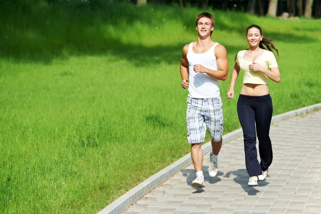 Какие группы мышц работают при беге