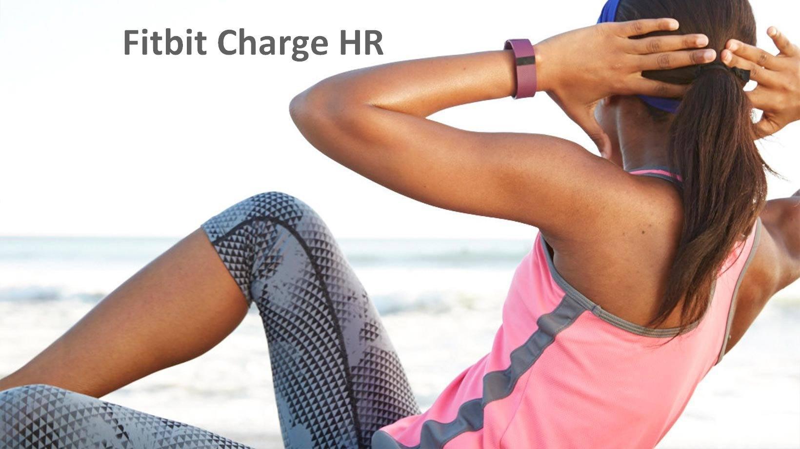 Выбор фитнес трекера. Какой выбрать_Fitbit Charge HR