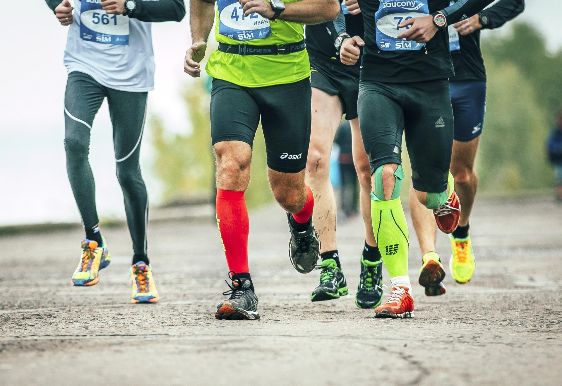 Носки для бега Марш-Бросок