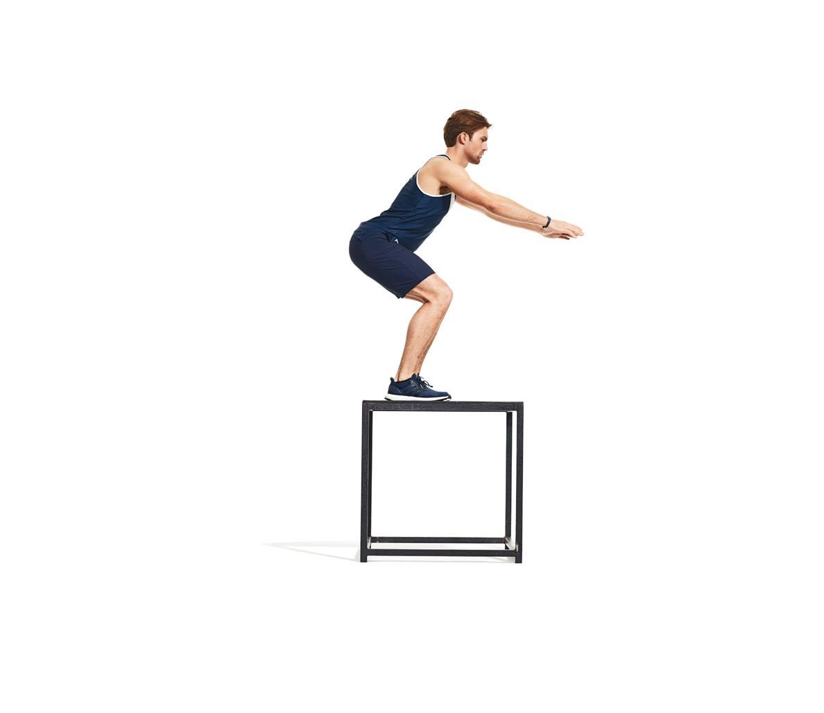 8 взрывных упражнений на увеличение прыжка на возвышенности