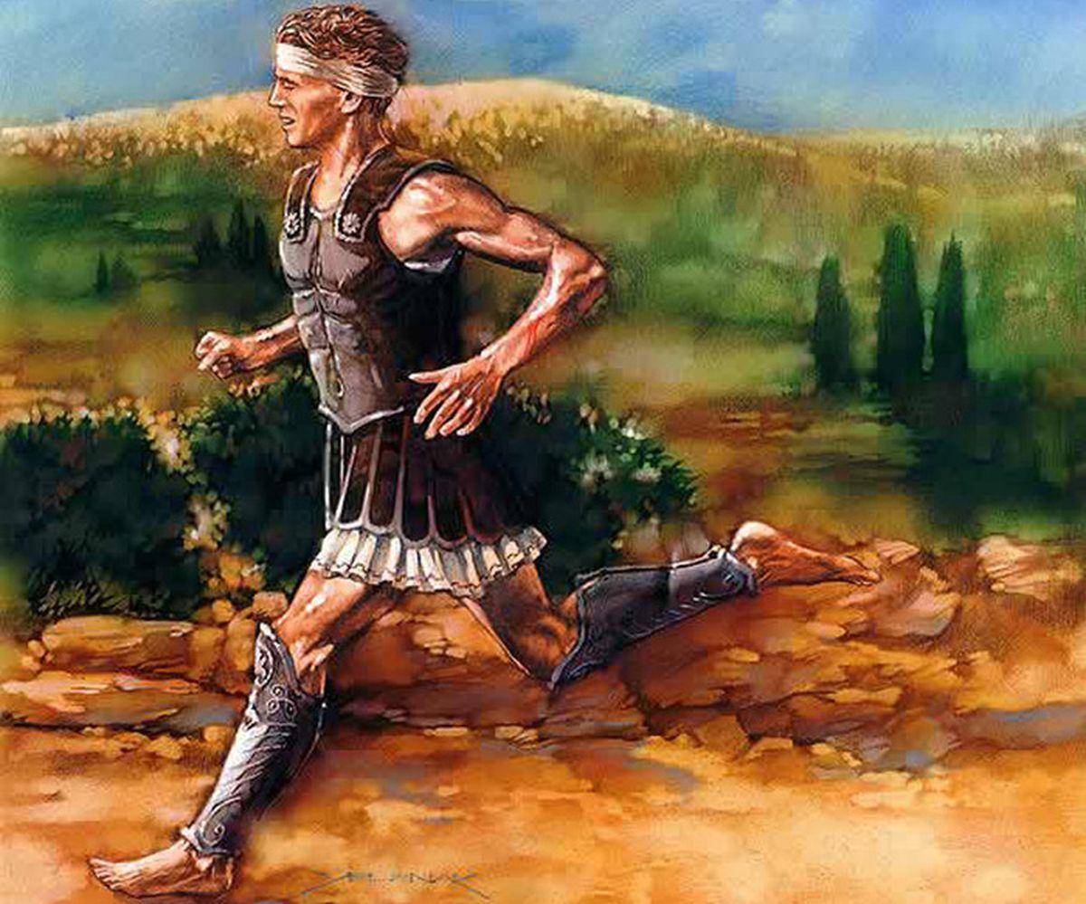 Янис Курос. Самый выносливый бегун в мире