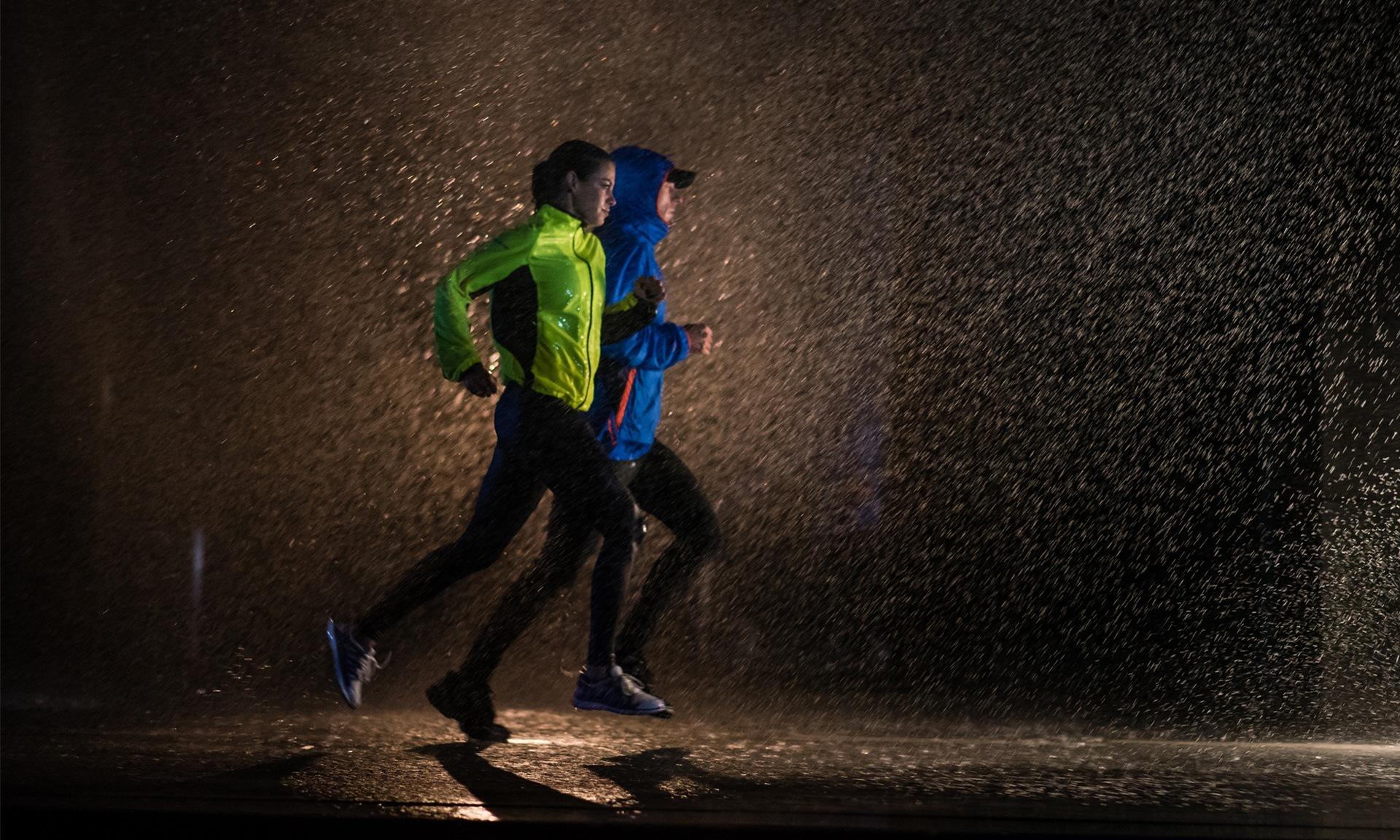 Бег под дождем. Стоит ли бегать?