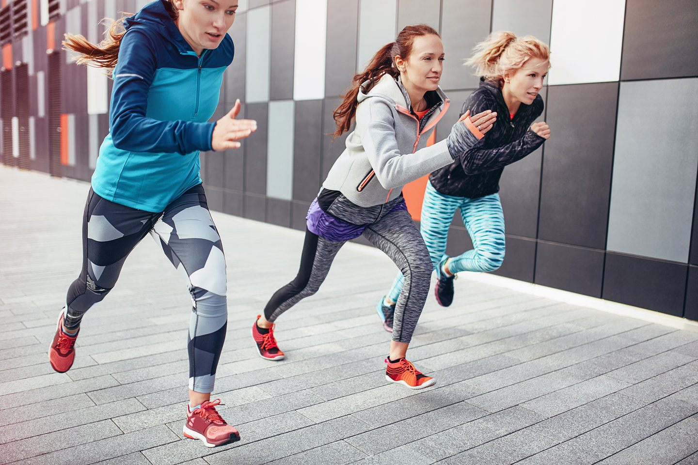 Тайтсы для бега женские