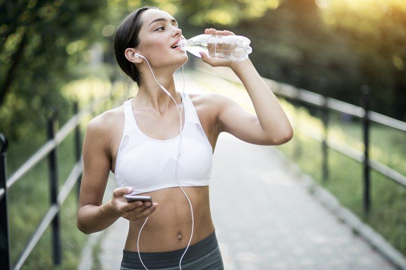Берите с собой воду на тренировку