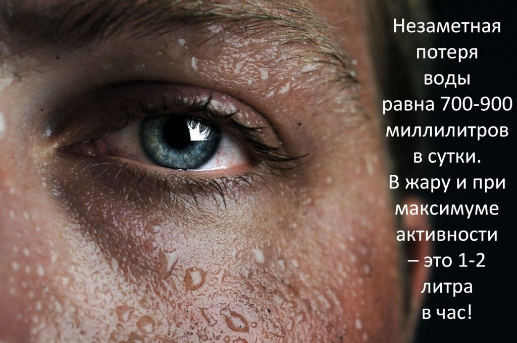 Обезвоживание при беге. Симптомы
