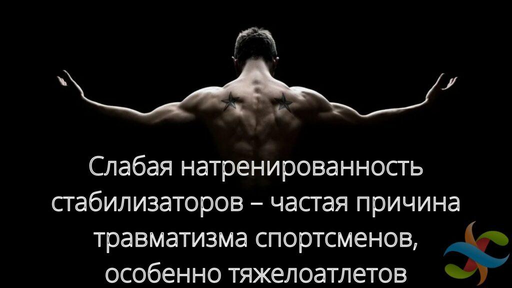 Мышцы стабилизаторы. Для чего нужны. Виды упражнений